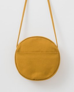 CANVAS CIRCLE PURSE M オークル