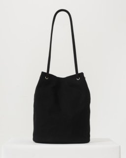 CANVAS BUCKET BAG ブラック