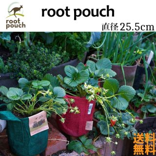 root pouch (ルーツポーチ) 直径25.5cm 3ガロン 【メール便送料無料】 持ち手の付いた不織布ポット  #3<img class='new_mark_img2' src='https://img.shop-pro.jp/img/new/icons61.gif' style='border:none;display:inline;margin:0px;padding:0px;width:auto;' />