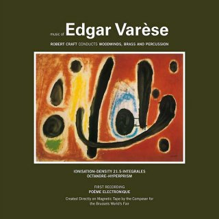Edgar Varese<br>Music of Edgar Varese Vol. 1 / LP