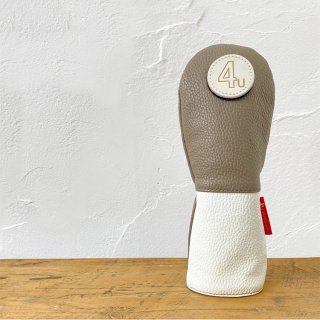 Bicolor<br>Leather head cover UT