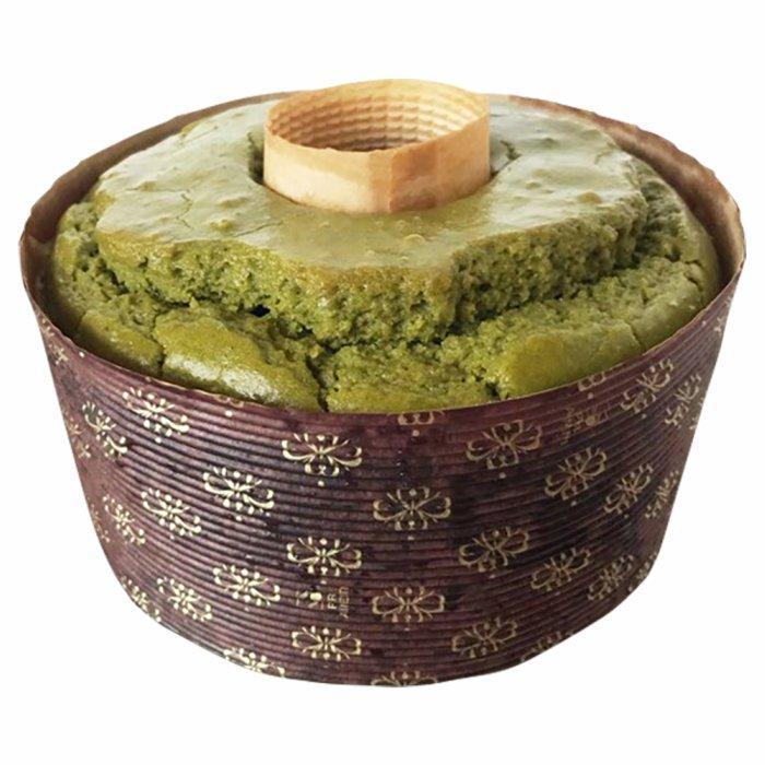 グルテンフリー 豆乳米粉シフォンケーキ(丸久小山園抹茶)アレルギー対応 ケーキ gluten free green tea chiffon cake