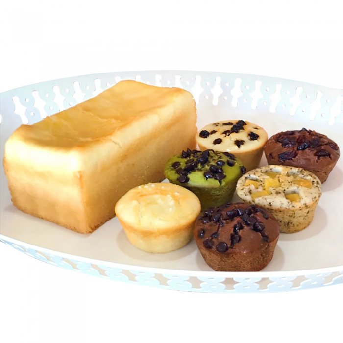 グルテンフリー・無添加・天然酵母 米粉パン おまかせセット