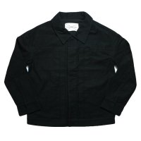 SUPERTHANKS | Twill Corduroy Blouson - Black【SPECIAL】
