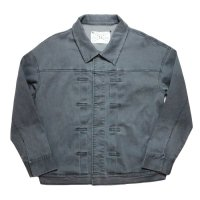 SUPERTHANKS | Denim Blouson - Black【SPECIAL】