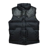 HBNS | RIPSTOP NYLON DOWN VEST-BLACK