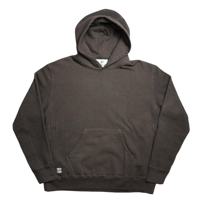 HBNS | BIG FOODED SWEAT PARKA - BROWN
