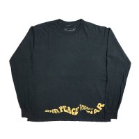RARE PANTHER | BEFORE PEACE THERE'S WAR L/S TEE-BLACK【50%OFF】