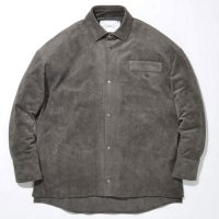 SUPERTHANKS | FAKE SUEDE BIG SHIRTS
