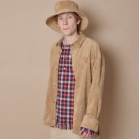 SUPERTHANKS | FAKE SUEDE BIG SHIRTS【SPECIAL】