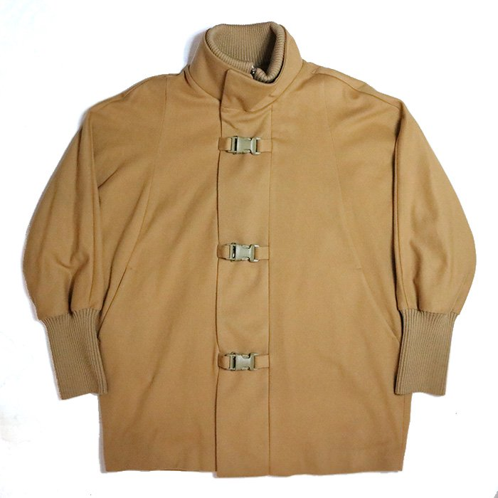 superNova. | Dolman Buckle Overcoat -Camel