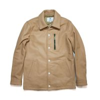 HBNS | LEATHER COW LEATHER COACH JACKET
