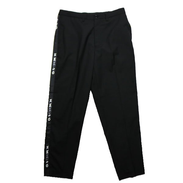 Hombre Nino | SIDE TAPE PANTS-BLACK
