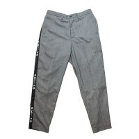 Hombre Nino | SIDE TAPE PANTS-GRAY【30%OFF】