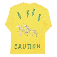 H33M | CAUTION LS TEE
