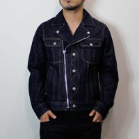HBNS | DENIM RIDERS BLOUSON−1WASH−