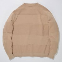 SUPERTHANKS | WIDE BORDER KNIT【SPECIAL】