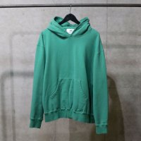HBNS | LOOSE HOODED PARKA - GREEN PLAIN