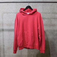 HBNS | LOOSE HOODED PARKA - RED PLAIN