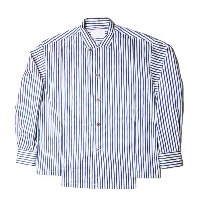 ANITYA | Open-Neckd Stripe Shirts