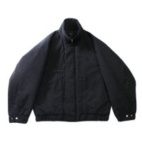 superNova. | Stand balloon jacket - Black