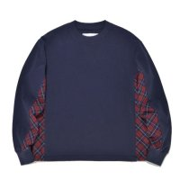 SUPERTHANKS | SIDE CHANGE LS TEE - NAVY