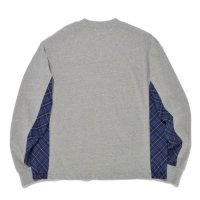 SUPERTHANKS | SIDE CHANGE LS TEE - GRAY
