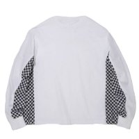 SUPERTHANKS | SIDE CHANGE LS TEE - WHITE