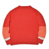 SUPERTHANKS | CHANGE CREW NECK KNIT - RED
