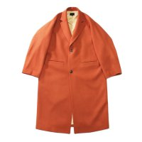 superNova. | Melton chester coat - Orange