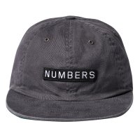 NUMBERS EDITION | LOGO TYPE TWILL 6 PANEL CAP