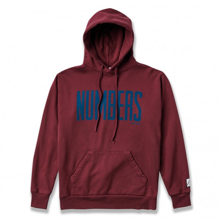 NUMBERS EDITION  | UPRIGHT FLEECE HOODIE