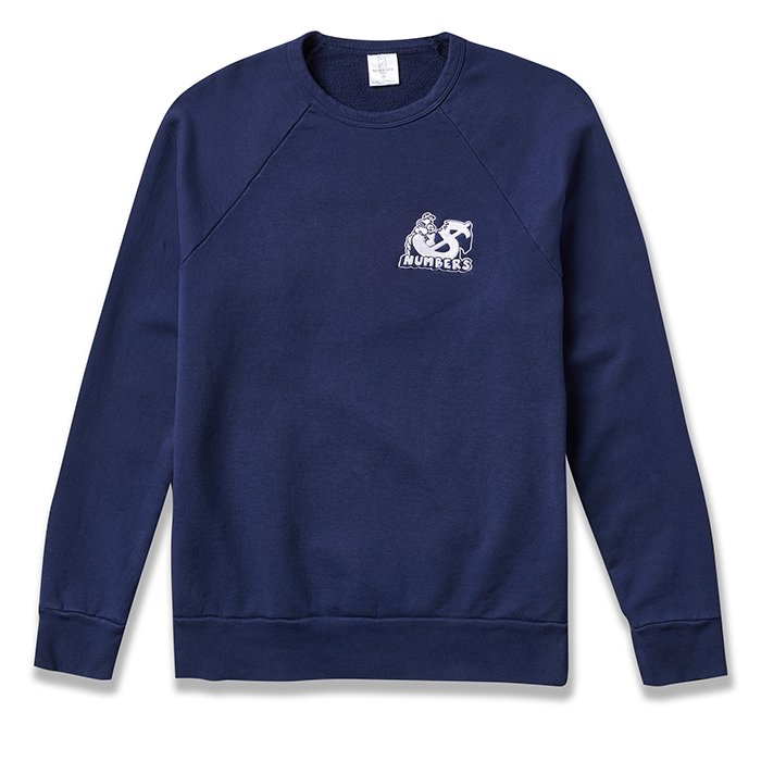 NUMBERS EDITION  | TERMITE FLEECE CREW