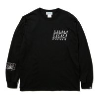 Hombre Nino | L/S PRINT TEE (STRUCTURE 1)- BLACK
