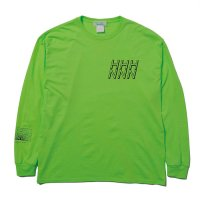 Hombre Nino | L/S PRINT TEE (STRUCTURE 1)- N.GREEN