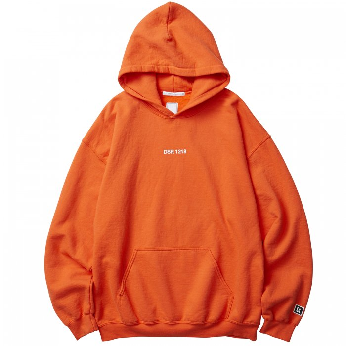 Liberaiders | SPACE ROCKET PULLOVER HOODIE  - ORANGE