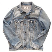 HBNS | EMB DENIM JACKET