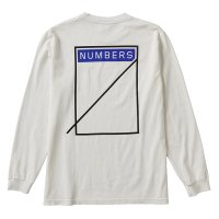 NUMBERS EDITION  | LOGOTYPE - L/S T-SHIRT