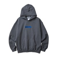 Liberaiders | GERMAN LOGO OVERDYED PULLOVER HOODIE  - BLACK