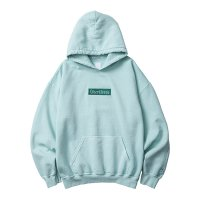 Liberaiders | GERMAN LOGO OVERDYED PULLOVER HOODIE  - MINT