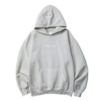 Liberaiders | GERMAN LOGO OVERDYED PULLOVER HOODIE  - WHITE
