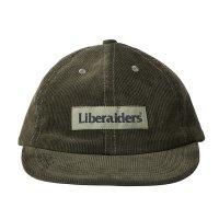 Liberaiders |  CORDUROY CAP - OLIVE