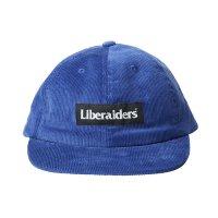 Liberaiders |  CORDUROY CAP - BLUE