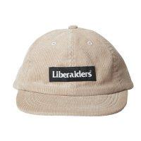 Liberaiders |  CORDUROY CAP - BEIGE
