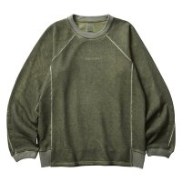 Liberaiders | LOCATION COORDINATES CREW NECK  - OLIVE