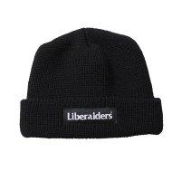 Liberaiders | OG LOGO WATCH CAP - BLACK
