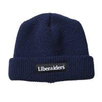 Liberaiders | OG LOGO WATCH CAP - NAVY