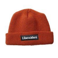 Liberaiders | OG LOGO WATCH CAP - ORANGE