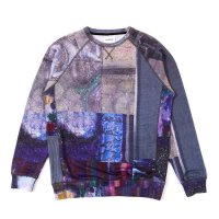 SOULLAND | BERGMAN SWEAT SHIRT W PRINT - MULTI