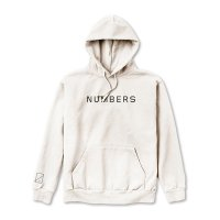 NUMBERS EDITION  | WORDMARK - FLEECE HOODIE